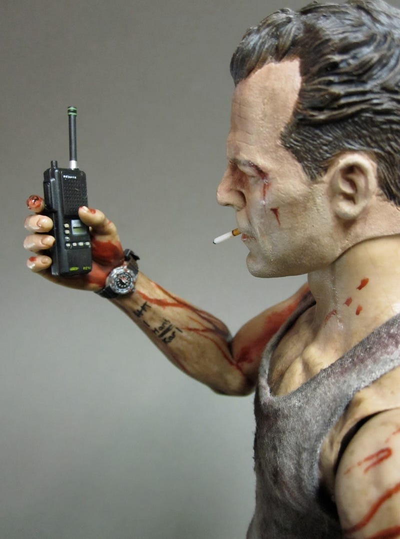 This Awesome Die Hard Action Figure has Smaller Feet Than my Sister