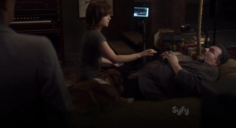 How it Would Play Out if Warehouse 13's Pete and Myka Hooked Up