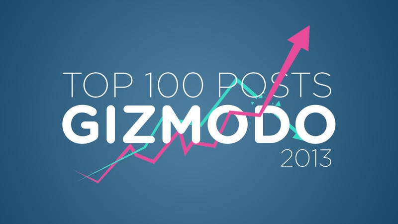 The 100 Most Popular Gizmodo Posts of 2013