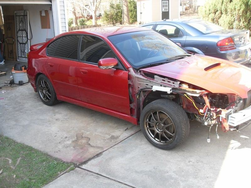 Legacy GT: From Totaled to Torquey Part 1