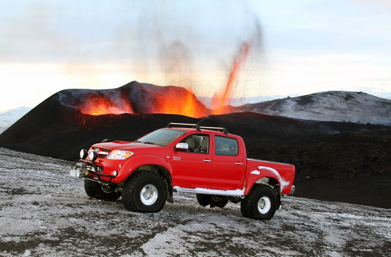 Top Gear Summits Icelandic Volcano Hours Before Eruption