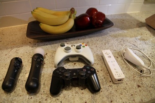 It's A Move! Beauty Shots Of Our Newest PS3 Controller And Its Older Brothers