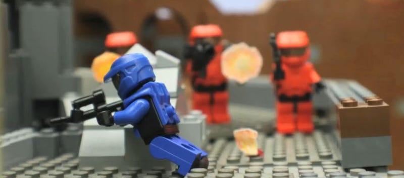 25-Minute Lego Halo Fan Movie: Watch the Trailer!