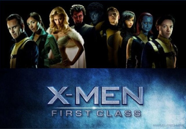 First look at the retro-1960s mutants of X-Men: First Class