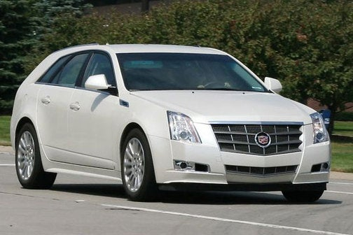 2010 Cadillac CTS Sportwagon, Spotted!