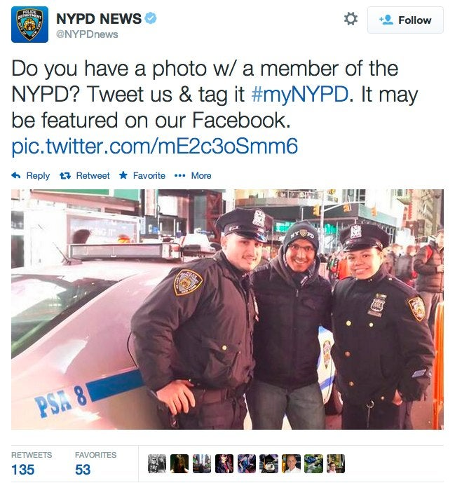 NYPD's Twitter Outreach Backfires in Most Predictable Way Possible