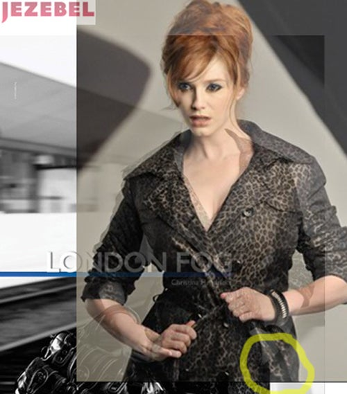Not Even Christina Hendricks Is Safe From Photoshop