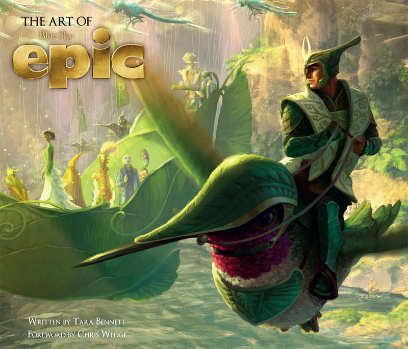 Brand New Exclusive Concept Art from the Animated Adventure Epic