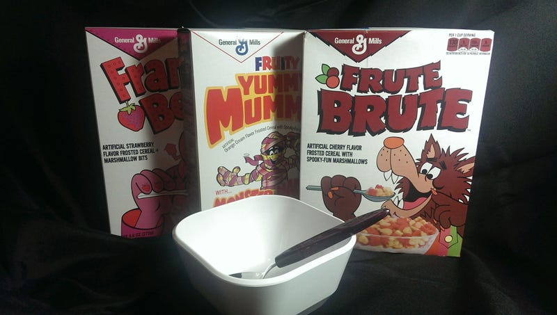 Frute Brute: The Snacktaku Monster Cereals Review Spooktacular