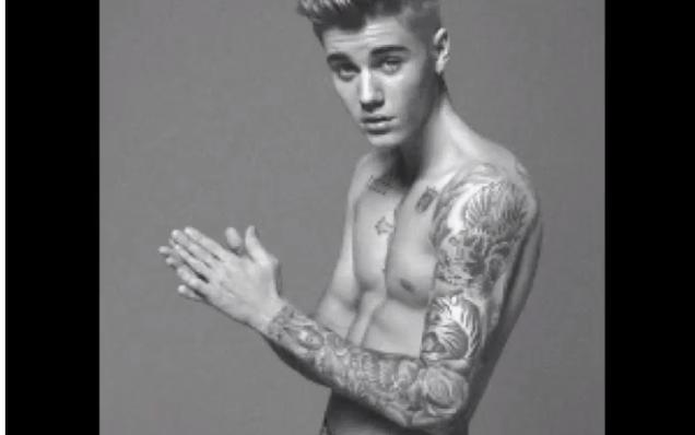 Justin Bieber Calvin Klein Photoshoot Of justin bieber's calvin