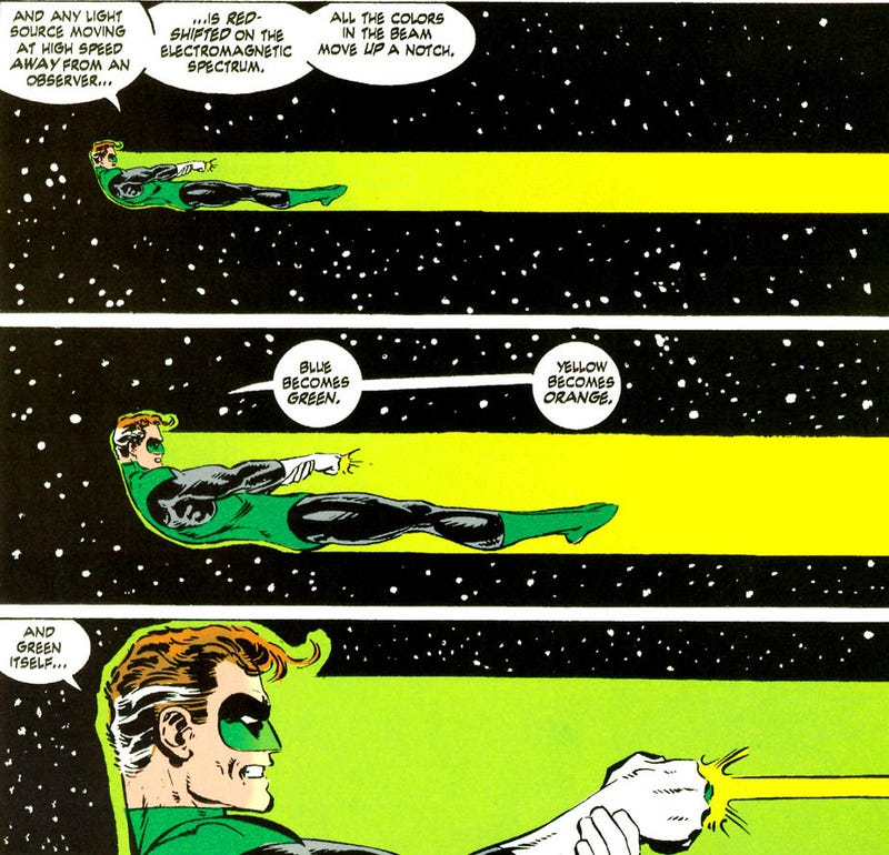 When Larry Niven reinvented the Green Lantern universe