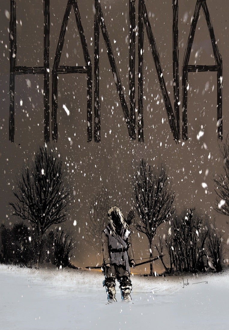 Check out Jock's thrilling concept art posters for Saoirse Ronan's Hanna