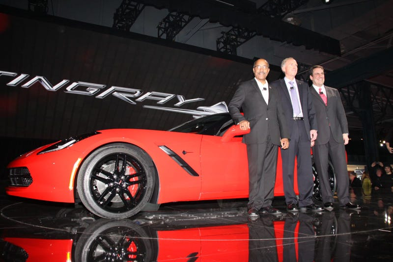 Dear GM, The Corvette Stingray Debut Was Notably Short On Nudity (NSFW!)