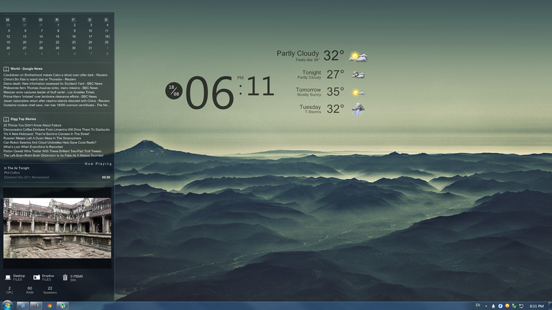 The Misty Desktop