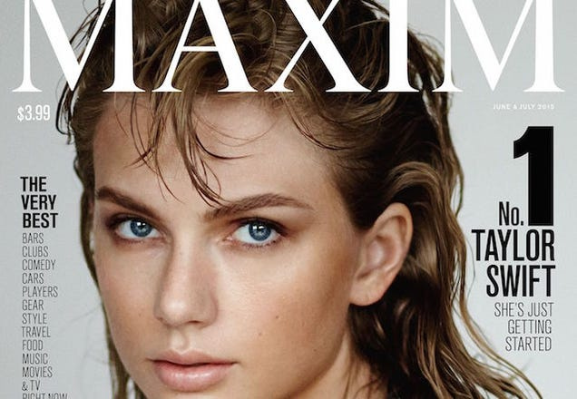 Taylor Swift Declared Maxim's Hottest Man; Taylor Shakes it Off