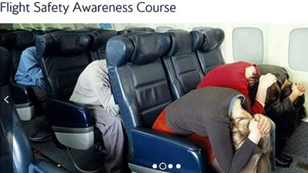 The Best Way to Hold Your Hands During a Plane Crash