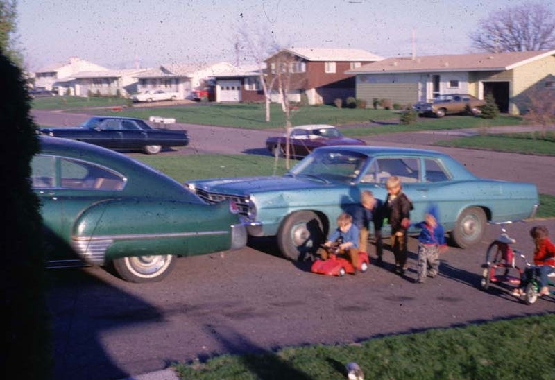 Can You Identify All The Cars In This 1970 Photograph?