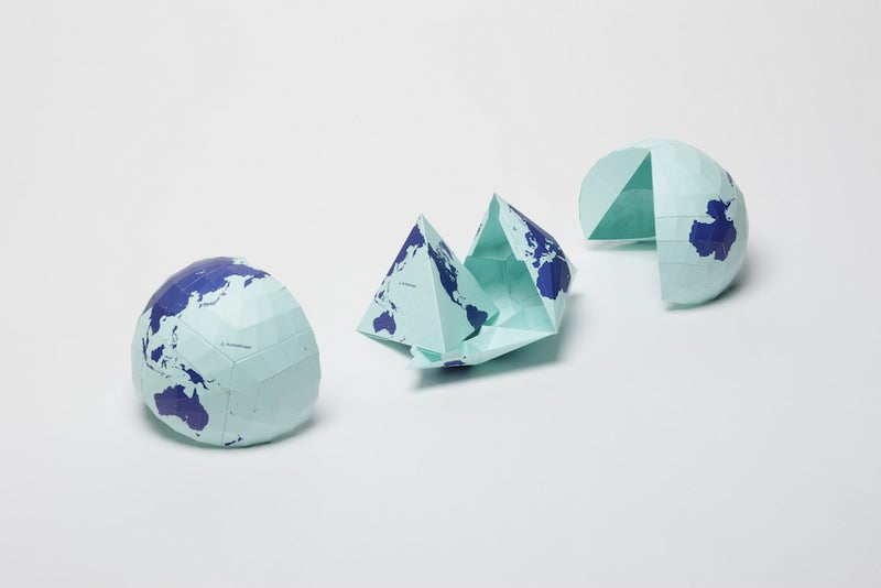 This Wacky World Map Just Won Japan's Biggest Design Award