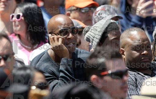 Did Barry Bonds Have A Good Time At The Giants Game Yesterday?