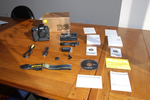 Nikon D3 Unboxing: A Preview of Your Holiday (Hopefully)