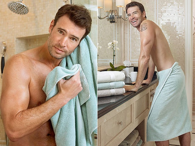 Scott Foley Shirtless Is a Great Way to Sell Me Sheets and Towels