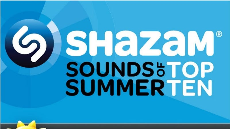 Shazam's Top Ten Summer Jams
