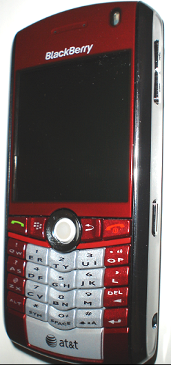 Red Blackberry Pearl, A Real Photo