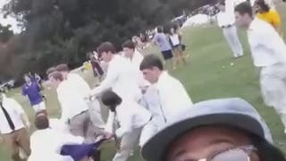 LSU Frat-Boy Brawl Documented With Perfect Video Selfie
