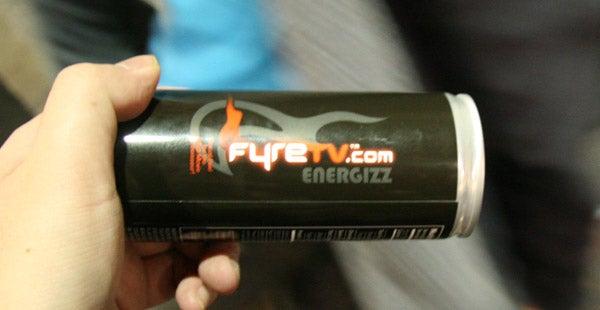 Energizz: The Official Energy Drink of Gizmodo at CES/AVN