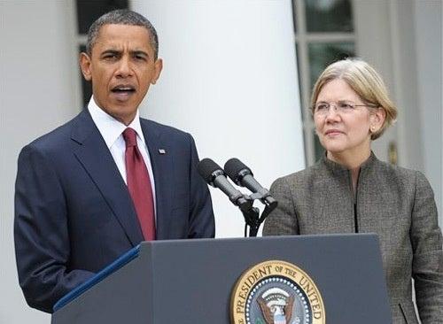 Obama Names Liberal Hero Elizabeth Warren to Advisory Post