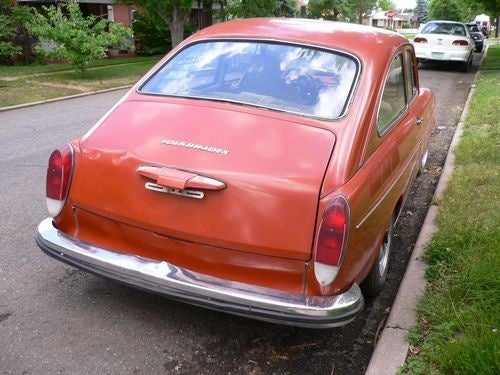 1972 Volkswagen Fastback Down On The Denver Street