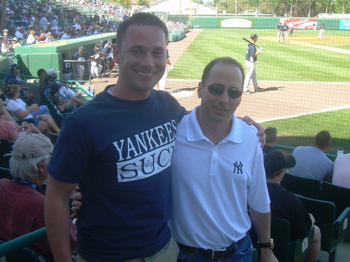 Brian Cashman Will Take A Picture With Just About Anybody These Days