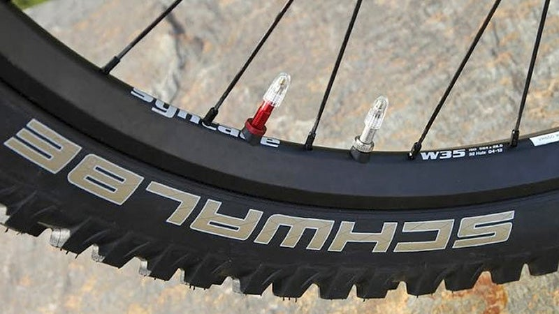 A Double Chamber Bike Tire Helps Prevent Flats When You Ride Off-Road