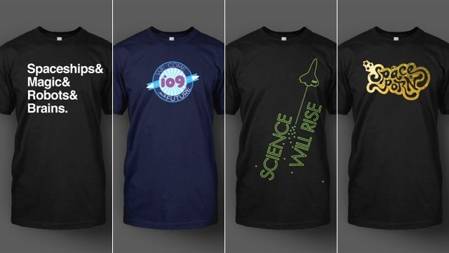Make everybody's chests more awesome with io9 t-shirts!