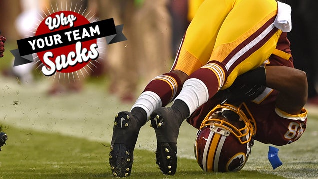 Why Your Team Sucks 2014: Washington Redskins
