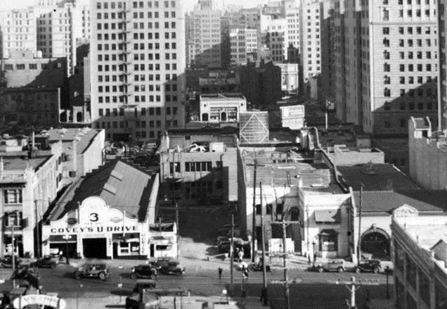 L.A.'s 1930s Extension of Wilshire Blvd. Left Urban Scars