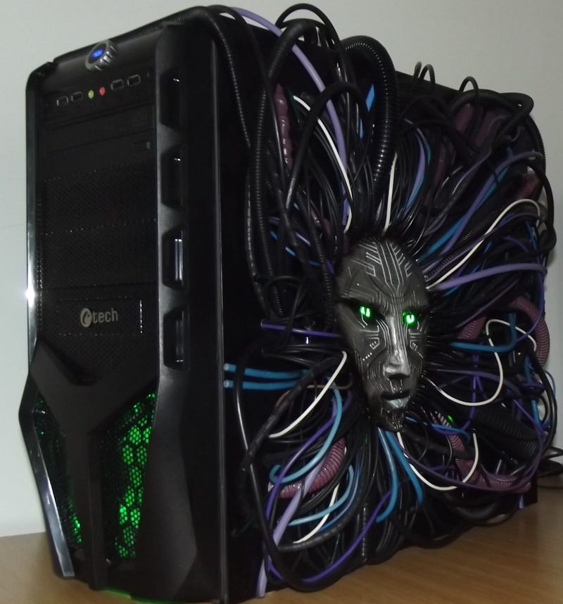 System Shock 2 Custom PC Case