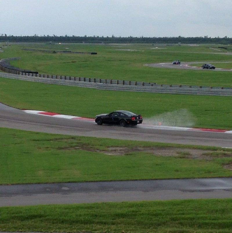 Yay, Track Car Tuesda--Splash!
