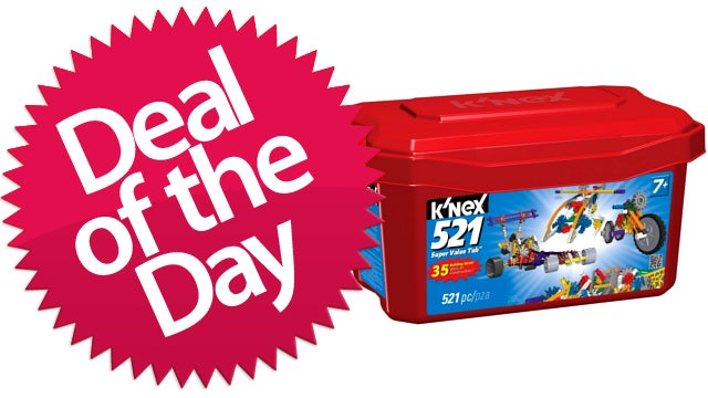 This K'nex Value Tub Is Your Creative-Childhood-Memory Deal of the Day