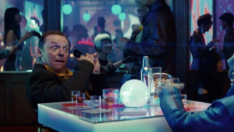 Simon Pegg explains why the new Star Trek movie is all Kirk's fault