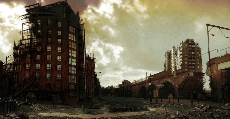 The apocalypse comes to Manchester