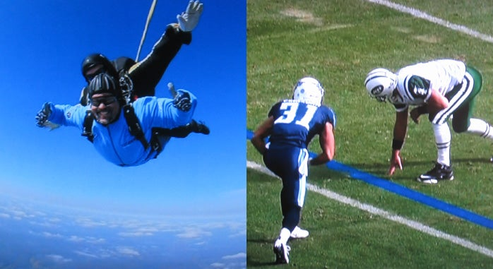 Blame the Wildcat: Favre Is a Wide Receiver and Fisher Is Skydiving...And McNabb Is Benched