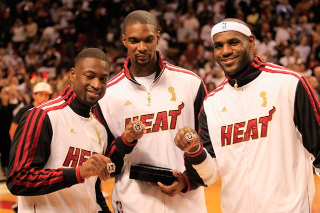 The Miami Heat's Championship Rings Are Pretty Insane