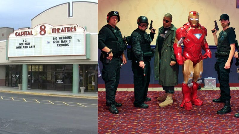 'Gunmen' Hired to Storm Movie Theater for Traumatizing Publicity Stunt