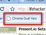 Dual View Splits Your Browser in Two