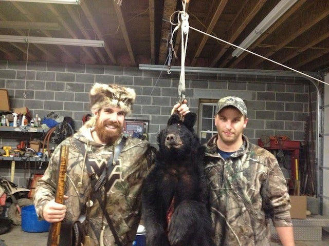 West Virginia Student Mascot Shoots A Bear; Bear Falls Out Of A Tree; Everyone Hollers