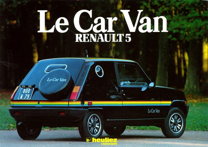 This Renault LeCar Van Is The Tiny French Sex Van You Deserve