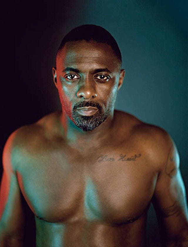 Idris Elba Is in a State of Undress on the Cover of Details