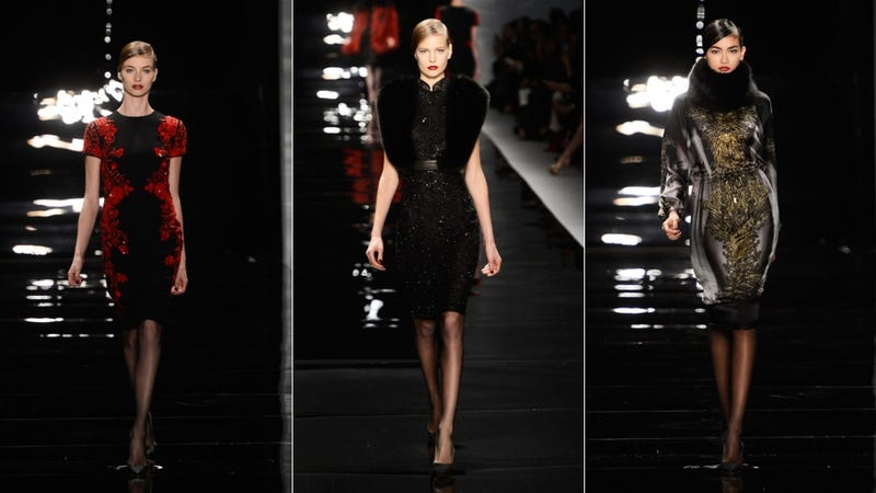 Reem Acra, for the Breathtaking Bond Villainess in You
