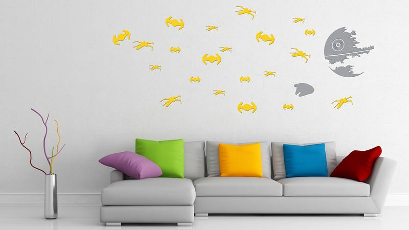 Re-Enact the Greatest Space Battle of All Time on Your Living Room Wall